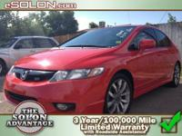 2009 Honda Civic Sdn 4dr Car Si Our Location is: Dave