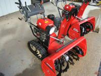 will not last long! Honda's two-stage snowblowers are