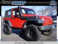 Made to get dirty!! This Jeep Wrangler will keep you