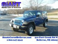 This 2009 Jeep Wrangler Unlimited Rubicon 4WD is
