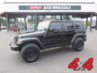 Drivers wanted for this dynamic 2009 Jeep Wrangler