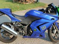 WOW OMG ARE YOU GENUINE. Yes i am 2009 Ninja 250 with
