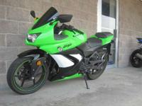 2009 Kawasaki Ninja 250R Special Edition Lime and Black