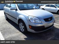 This 2009 Kia Rio LX is offered solely by AutoNation