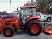 Description Make: Kubota Year: 2009 New Tractor, comes
