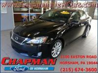 2009 Lexus IS 250. AWD. Are you READY for a Lexus?!