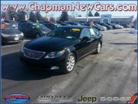 2009 Lexus LS 460, ONE OWNER, LEATHER, NAVIGATION,