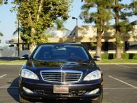 2009 MERCEDES S550 BLACK ON BLACK WITH ONLY 59K MILES