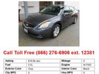 2009 Nissan Altima 2.5 4dr Sedan Sedan Precision Gray