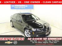 G8 - V6 - LEATHER - CLEAN CARFAX - 1 OWNER - SERVICED