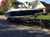 2009 Sea Ray 250 SLX, with an enclosed pump out fridge,