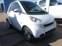 SmartCar Passion, 2D Coupe, 1.0L I3, RWD, and White.