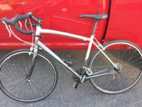 I am selling my like new specialized sequoia road bike.