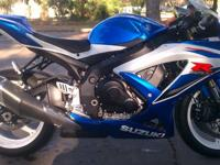 Hello, I currently have a 2009 Suzuki Gsxr 600 for