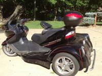 The Falcon Trike is a true trike conversion with