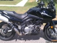 I currently have a 2009 Suzuki V-Strom 1000 also known