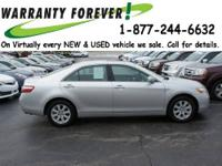 2009 Toyota Camry 4 Dr Sedan XLE Our Location is: Roper