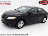 Camry XLE, 3.5L V6 SMPI DOHC, Leather, and CLEAN