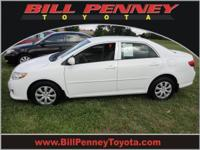 2009 Toyota Corolla 4 Dr Sedan LE Our Location is: Bill