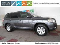 One owner 2009 TOYOTA HIGHLANDER 4WD with just 60k