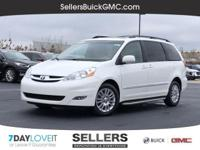 2009 SIENNA LIMITED Clean CARFAX One Owner