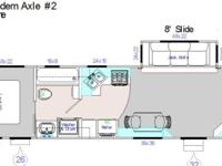 "TRAVEL TRAILER ""LUXURY"" by DESIGN - 32 FT. 2009. (in"
