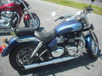 2009 Triumph Bonneville America 900. This one-owner