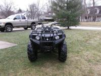 2009 Yamaha Grizzly 350 fuel injected 4x4, It has