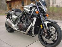 Up for sale is a 2009 Star (Yamaha) V-max. This bike