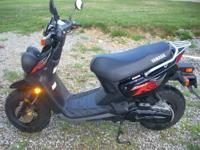I have a 2009 Yamaha Zuma scooter for sale. It is in
