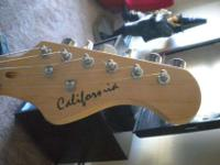 'California' Guitar, made by Spencer, modeled after the