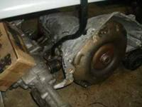 this is a chevy 400th automatic transmission, that came