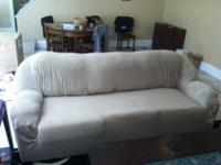 For sale is a sofa and loveseat set with (2) included