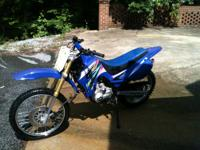 I have a 200cc dirt bike with electric start that just