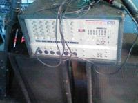 Great for church, school, events, etc. includes Mixer