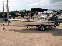 This 2010 18' Dolphin Back Country Pro Flatsboat is