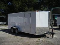 This is a 2010 Black/Diamond plate V nose Trailer,7 ft.