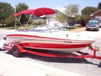 "2010 19"" Tahoe ski boat, Runs and looks brand new."