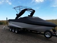 2010 Malibu Wakesetter 247lsv in excellent condition.
