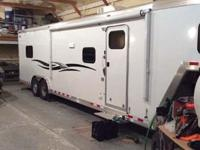 Stock Number: 718913. All aluminum toy hauler, custom