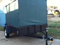 5x8 trailer for sale. 2010 model manufactured by Lone