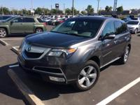 This 2010 Acura MDX in Polished Metal Metallic
