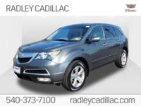 Grigio Metallic 2010 Acura MDX Technology AWD 6-Speed