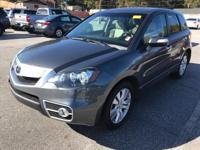 Options:  2010 Acura Rdx W/Tech|4Dr Suv W/Technology