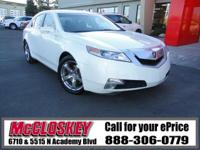 ONE OWNER!! This 2010 Acura TL comes with All Wheel