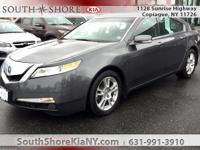 Gray 4D Sedan 2010 Acura TL 3.5 w/Technology Package