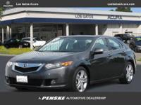 This 2010 Acura TSX 4dr 4dr Sdn V6 Auto Sedan features