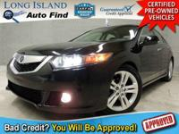 TAKE A LOOK AT THIS CRYSTAL BLACK PEARL 2010 ACURA TSX