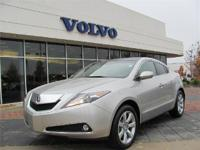 Description 2010 ACURA ZDX ABS, AIR CONDITIONING, ALLOY