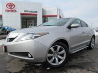 This 2010 Acura ZDX comes equipped with heated and